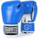 """560BF-1  /8 oz/ Blue Перчатки боксерские профессиональные, натуральная кожа """"COWHIDE GRADE A"""""""