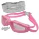 H10060-4 Очки для плавания с берушами (розовые)