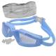 H10060-2 Очки для плавания с берушами (голубые)