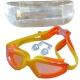 H10060-3 Очки для плавания с берушами (жёлто-оранжевые)