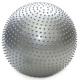 HKGB801-PP Мяч гимн.массажный 65 см (серебро в пакете)