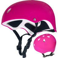 F11721-1 Шлем зашитный универсальный JR (розовый), 10013160, Велозамки и ШЛЕМА