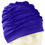 F11780 Шапочка для плавания текстильная (лайкра) (синяя), 10013193, 12.ПЛАВАНИЕ