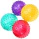 F18570 Мяч массажный d-20 см. (материал: ПВХ,  цвета Mix: красный/синий/зеленый/розовый в пакете)