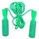 B23650 Скакалка с подшипником (цвет-Зеленый, ручки пластиковые, шнур ПВХ)