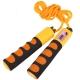B23652 Скакалка со счетчиком (цвет-Оранжевый, ручки пластиковые, шнур ПВХ)