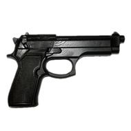 Пистолет тренировочный PT-1M (черный), мягкий термоэластопласт 430гр., 10014312, Груши, мешки, макивары, наборы