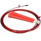 R18144 Скакалка скоростная 2,8 м. трос в ПВХ (красная)
