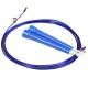R18144 Скакалка скоростная 2,8 м. трос в ПВХ (синяя)