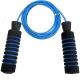 R18153 Скакалка Неопрен/ маталл.трос с подшипником 2,8 м. (синяя)