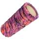 D26059 Ролик для йоги (фиолетово-розовый/мультиколор) 33х14см ЭВА/АБС