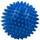 T07639 Мяч массажный твердый (синий) Диа 9см.