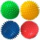 T07639 Мяч массажный твердый (желтый) Диа 9см.