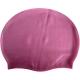 R18188 Шапочка для плавания взрослая (силикон) (Розовая)