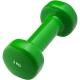 HKDB115 Гантель виниловая 2,0 кг (зеленая)