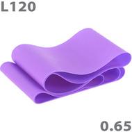 MTPR-120-65 Эспандер ТПЕ лента для аэробики 120 см х 15 см х 0,65 мм. (фиолетовый), 10015690, Эспандеры Трубки Ленты Жгуты