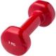 HKDB115-C2 Гантели виниловые 3 кг (красная)