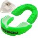 C28975 Капа боксерская BadBoу Prо одночелюстная (Зеленая) в боксе на блистере