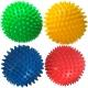T07639 Мяч массажный твердый (фиолетовый) Диа 9см.