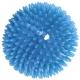 T07639 Мяч массажный твердый (васильковый) Диа 9см.