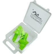 C33556-3 Беруши силиконовые на шнурке (салатовые), 10016740, Аксессуары для плавания