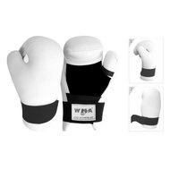 """WSG-341W р. XL Перчатки полуконтактные """"WMA"""" (белые), 10012113, Перчатки для каратэ"""