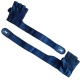 1607 / S/ Перчатки Тяж. Атлетические Амара/Нейлон ,Упаковка:Премиум Пакет на кнопке