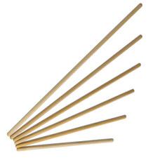 Гимнастическая деревянная палка 100см, d-28 мм