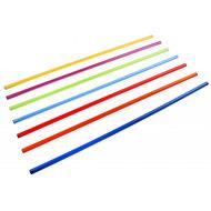 Гимнастическая палка пластиковая   80 см (d-20), 10013462, 06.ХУДОЖЕСТВЕННАЯ ГИМНАСТИКА
