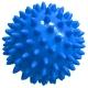 T07638 Мяч массажный твердый (синий) Диа 7см.