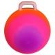 T07535 Мяч попрыгун с ручкой 45 см (с рисунком радуга)