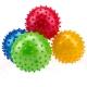 F18569 Мяч надувной массажный d-16 см. (материал:ПВХ,цвета Mix:красный/синий/зеленый/розовый)