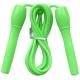 B23648 Скакалка (цвет-Зеленый, ручки пластиковые, шнур ПВХ)