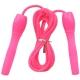 B23648 Скакалка (цвет-Розовый, ручки пластиковые, шнур ПВХ)