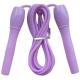 B23648 Скакалка (цвет-Фиолетовый, ручки пластиковые, шнур ПВХ)