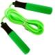 B23649 Скакалка (цвет-Зеленый, ручки пластиковые, шнур ПВХ)