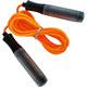 B23649 Скакалка (цвет-Оранжевый, ручки пластиковые, шнур ПВХ)