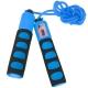 B23652-1 Скакалка со счетчиком (цвет-Синий, ручки неопреновые, шнур ПВХ)