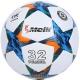 """R18028-3 Мяч футбольный """"Meik-098""""  4-слоя  TPU+PVC 3.2,  400 гр, термосшивка"""