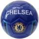 """R18042-1 Мяч футбольный """"Chelsea"""", клубный, 3-слоя  PVC 1.6, 300 гр, машинная сшивка"""
