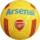 """R18042-3 Мяч футбольный """"Arsenal"""", клубный, 3-слоя  PVC 1.6, 300 гр, машинная сшивка"""