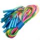 R18108 Скакалки (10 штук) шнур из ПВХ, 2,6 м. (мультиколор)