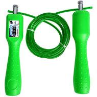 R18157-4 Скакалка из троса со счетчиком 2,8 м. (зеленая), 10014690, СКАКАЛКИ