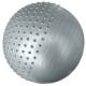 HKGB801-1-PP Мяч гимн.массажный 65 см (серебро в пакете)