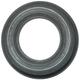 Эспандер кистевой 23029-AR, кольцо 55кг, d-80мм, ребристый (черный)