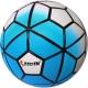 """D26074-1 Мяч футбольный """"Meik-100"""" (синий) 4-слоя, TPU+PVC 3.2,  410-450 гр., машинная сшивка"""