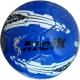 """R18032-4 Мяч футбольный """"Meik-069"""" (синий) 4-слоя  TPU+PVC 3.0,  400 гр, машинная сшивка"""