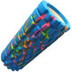 B33123 Ролик для йоги (голубой/мультиколор) 33х14см ЭВА/АБС