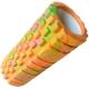 B33127 Ролик для йоги (оранжевый/мультиколор) 33х14см ЭВА/АБС
