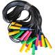 Скакалка 3,00 м. SKA-305 (полнотелый резиновый шнур d-5 мм., ручки пластик)